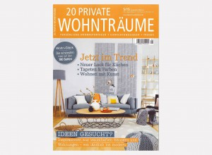 Cover 20 Private Wohntraume - House feature - September 2015-1