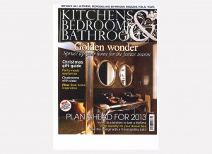 Cover Kitchen, Bedrooms and Bathrooms- Dec 2012 Front cover