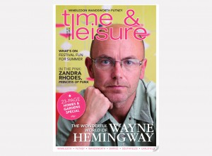 Cover TIME & LEISURE cover